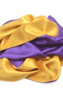 Etole jaune violet