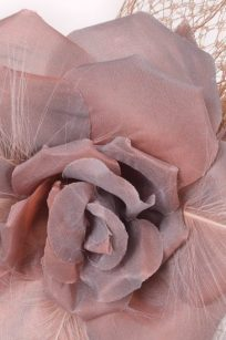 Bibi fleur rose detail