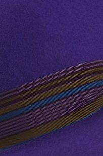 Chapeau capeline velours detail