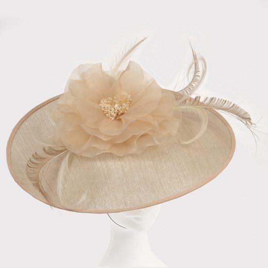 Chapeau capeline nude 2
